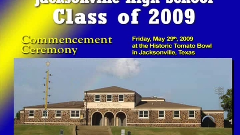 Thumbnail for entry Jacksonville High School Graduation 2009