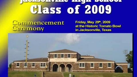 Thumbnail for entry Jacksonville High School Graduation 2009