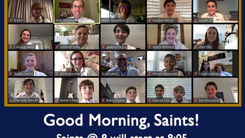 Thumbnail for entry Saints @ 8 - August 24, 2020