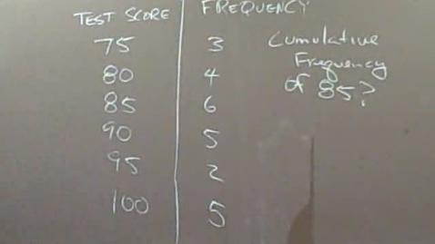 Thumbnail for entry Mr. Segula E1 Problem 70