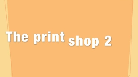 Thumbnail for entry The print shop 2