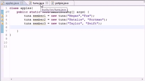 Thumbnail for entry Java Programming Tutorial - 47 - More on Static