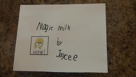 Thumbnail for entry Magic Milk