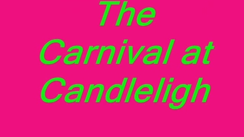 Thumbnail for entry Carnival at Candlelight Book Review