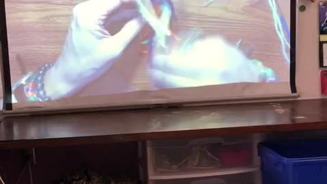 Thumbnail for entry Ms. Allen weaving video #5