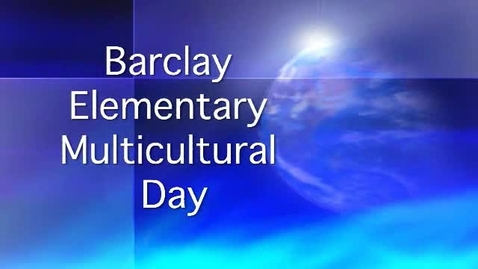 Thumbnail for entry Multicultural Day at Barclay