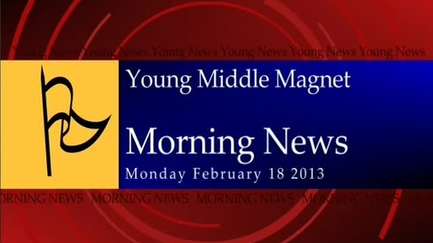 Thumbnail for entry 02-18-2013 Morning Show