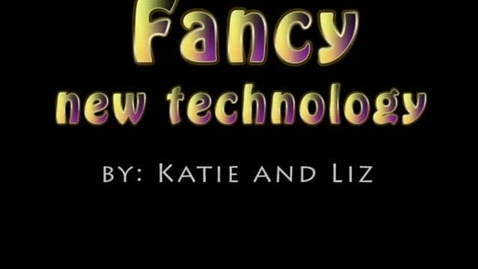 Thumbnail for entry Fancy New Technology - WSCN (2009-2010)
