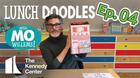 Thumbnail for entry LUNCH DOODLES with Mo Willems! Episode 04
