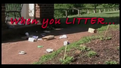 Thumbnail for entry When You Litter: What would Thomas Jefferson say? | Monticello (2010)