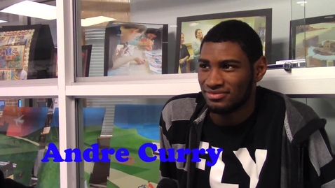 Thumbnail for entry Today's Senior Profile: Andre Curry