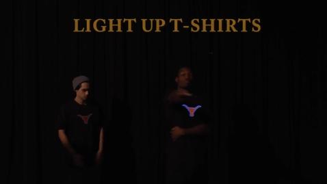 Thumbnail for entry LIGHT UP KELL T-Shirts - short promo
