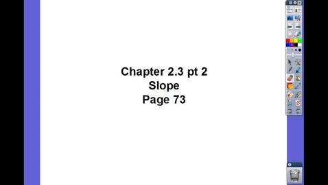 Thumbnail for entry Algebra II Ch 2.3 pt 2