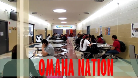 Thumbnail for entry Omaha Nation Harlem Shake Video Lunchroom