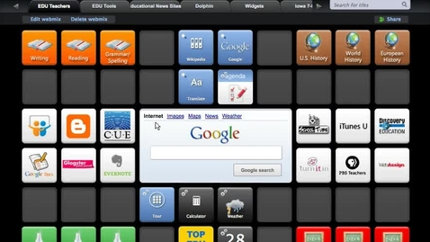 Thumbnail for entry Tutorial: How to use the Symbaloo quickstart