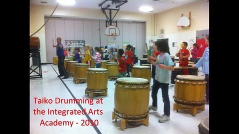 Thumbnail for entry Taiko Drumming at the IAA - 2010