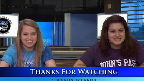 Thumbnail for entry Viking Vision News 5-7-2012