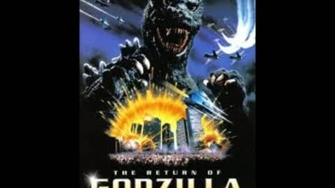 Thumbnail for entry Godzilla (1985) Japanese Army March