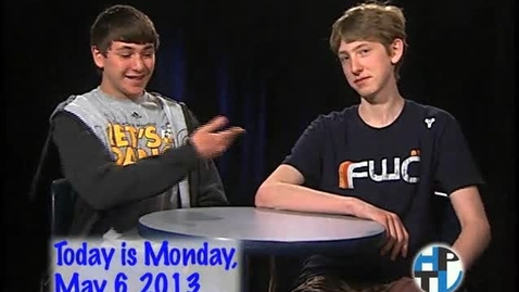 Thumbnail for entry Monday, May 6, 2013