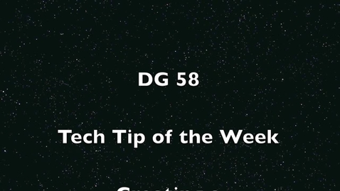 Thumbnail for entry Tech Tip of the Week- Google Forms