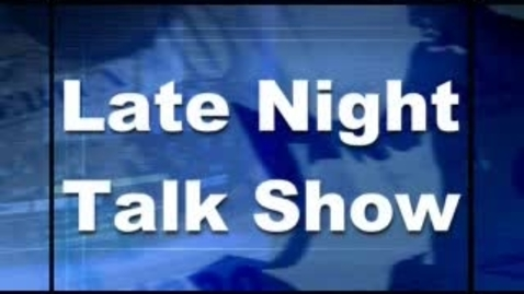 Thumbnail for entry Lauren and Mallory Late Night Talk Show