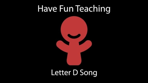 Thumbnail for entry Letter D Song