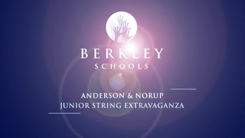 Thumbnail for entry 2013 Junior String Extravaganza Concert