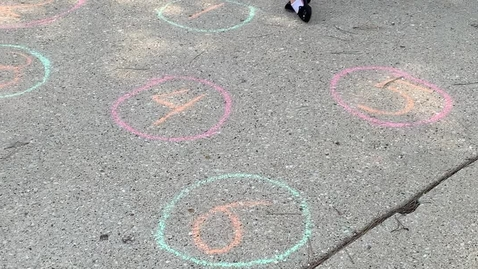 Thumbnail for entry Chalk Numbers Game