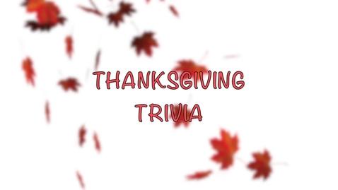 Thumbnail for entry Thanksgiving Trivia 2018