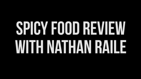 Thumbnail for entry Food Review Trailer