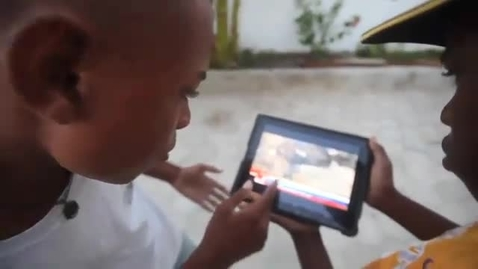 Thumbnail for entry Powerful: Haiti Kids Stand With Japan!
