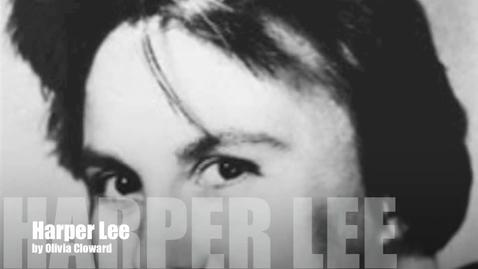 Thumbnail for entry Harper Lee