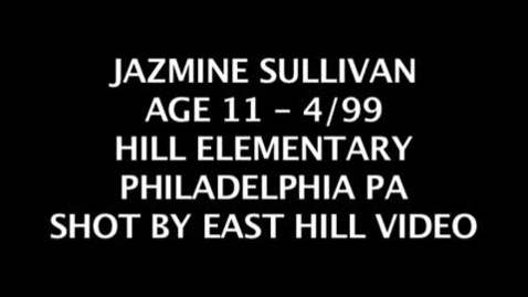 Thumbnail for entry JAZMINE SULLIVAN HOME from THE WIZ at 11 years old ashanti stephanie mills also did it
