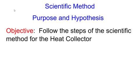 Thumbnail for entry Purpose and Hypothesis Lesson