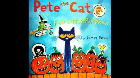 Thumbnail for entry Pete the Cat-Five Little Pumpkins