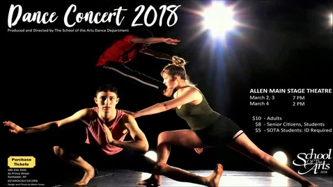 Thumbnail for entry School of the Arts Dance Concert 2018 Act II
