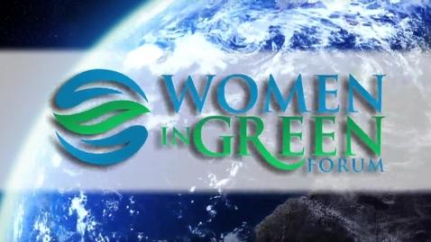 Thumbnail for entry Women In Green Forum Youth Trailblazer
