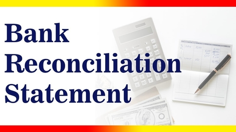 Thumbnail for entry Bank Reconciliation Statement | BRS | Accounting | Letstute Accountancy
