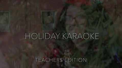 Thumbnail for entry Holiday lip dub with MHS staff