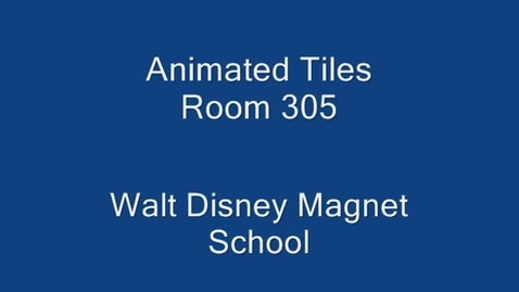 Thumbnail for entry Animated Tiles 305