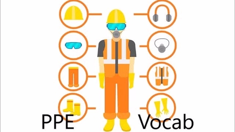 Thumbnail for entry ppe vocab