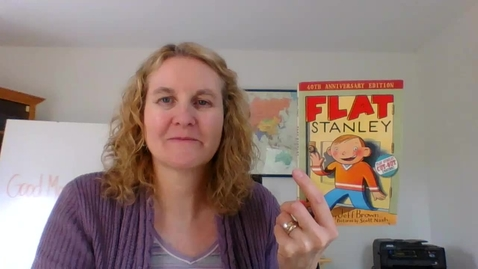 Thumbnail for entry Flat Stanley, chapter 4