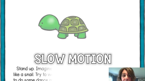 Thumbnail for entry Slow Motion