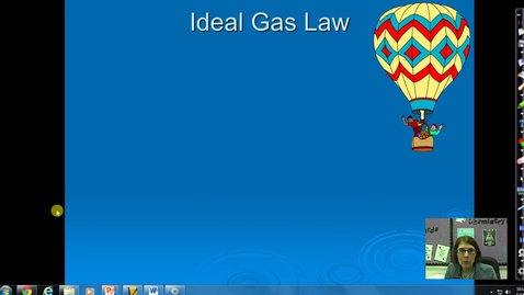 Thumbnail for entry Unit 5 Ideal Gas Law