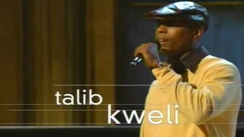 Thumbnail for entry Talib Kweli - Def Poetry Jam
