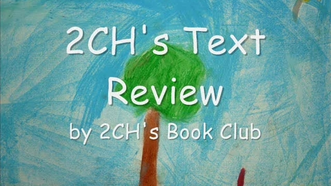 Thumbnail for entry 2CH Book Review