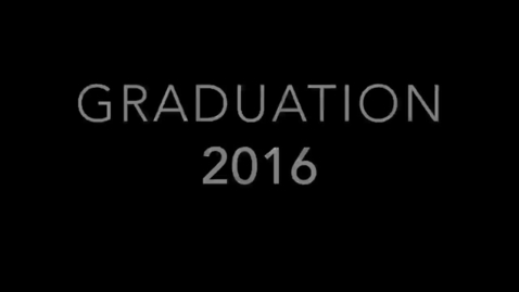 """Thumbnail for entry Cardozo HS Graduation 2016 - """"Can't Stop the Feeling"""" Justin Timberlake Parody"""