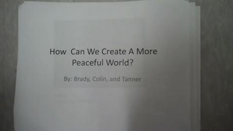 Thumbnail for entry Peace Paperslide - Mr. Kessler 1
