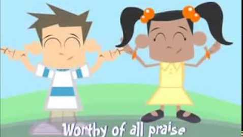 Thumbnail for entry How Great is Our God  Children's Ministry Worship Video by Yancy