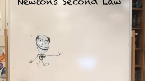 Thumbnail for entry Little Man teaching about Newton's Second Law